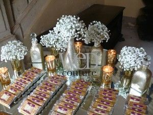 Baroque Wedding Style Marie Antoinette Table Personalised Chocolate Bars As