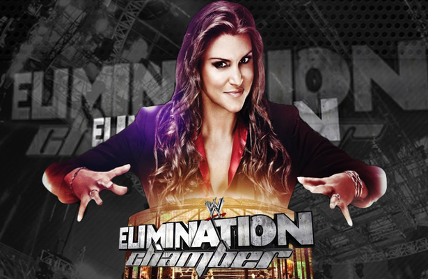 WWE Elimination Chamber 2015 Nikki Bella vs. Paige vs