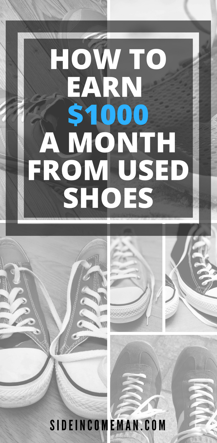 f728e95fe Full guide on how to make a healthy  sideincome from selling second hand  shoes   sneakers.  reseller  sidehustle  flipping