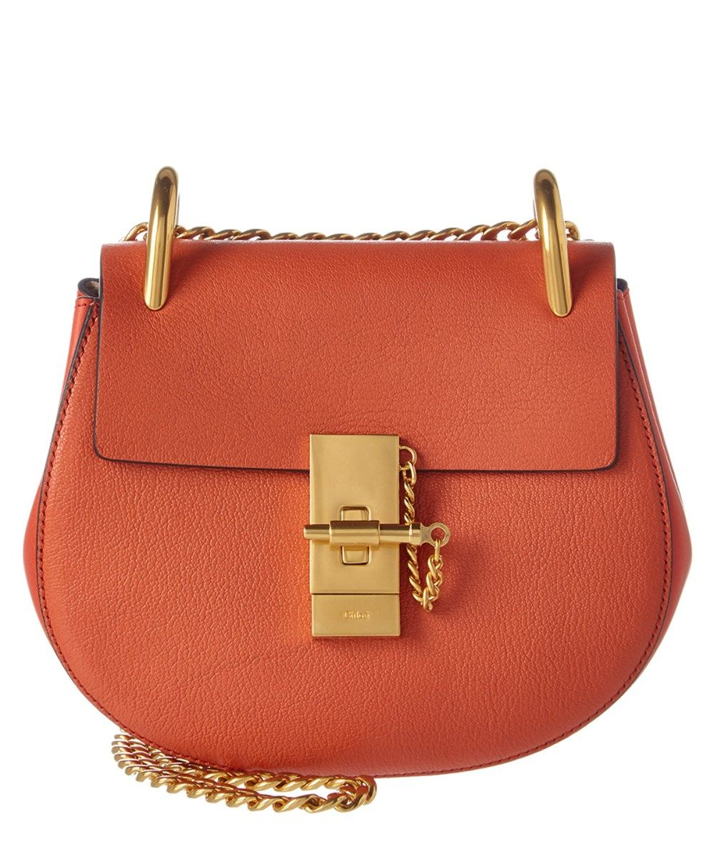 8e2a7a72425 CHLOÉ Chloe Drew Mini Leather Shoulder Bag .  chloé  bags  shoulder bags   lining  suede