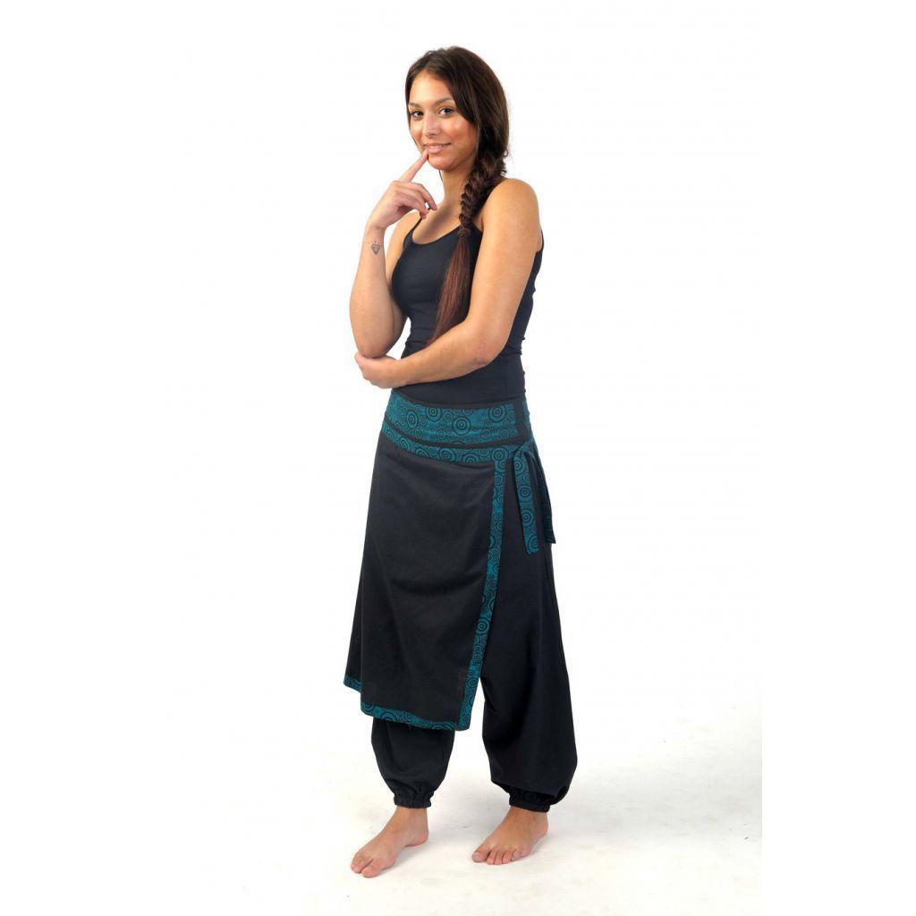 Pantalon sarouel femme ethnique papillon Seturai - FantaZia-Shop ... 5bcfc5e391f