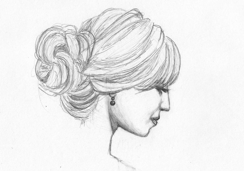 Diana Aggron sketch.....artist: Holly Zezu