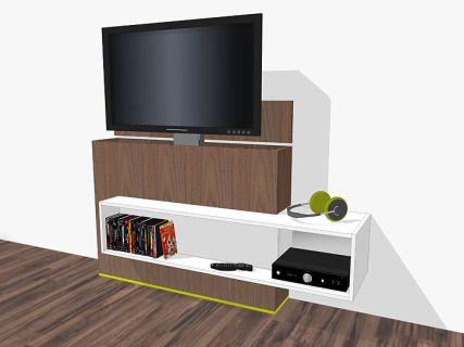 Tv Meubel Lift.Tv Meubel Met Lift Zelf Maken In Hout Of Mdf Bouwtekeningen