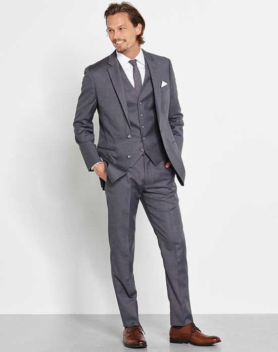 Cheap Mens Wedding Suits Buy Quality Suit Directly From China Slim Suppliers Custom Made Formal Gray 3 Piece Groom Tuxedos