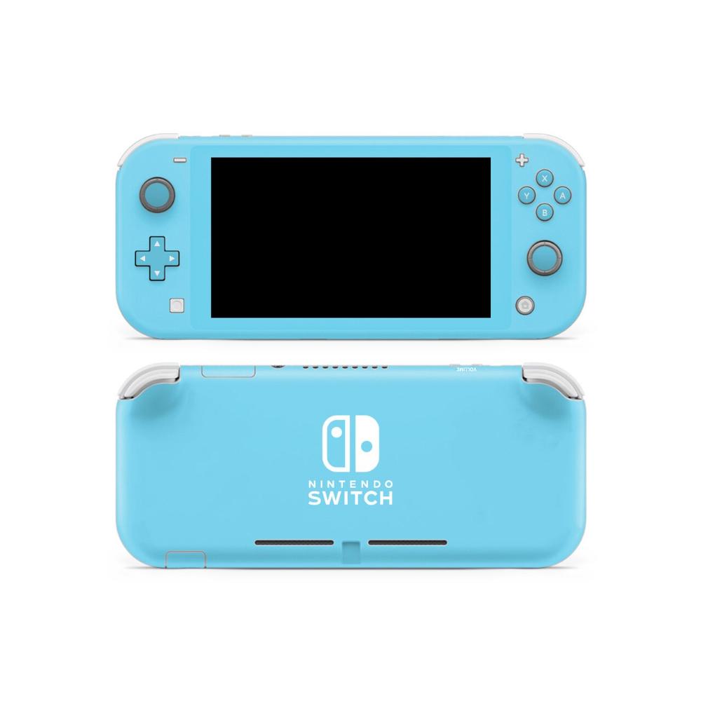 Cornflower Blue Nintendo Switch Lite Skin Ko Custom Creations Switch Pressure Sensitive Adhesive Nintendo Switch