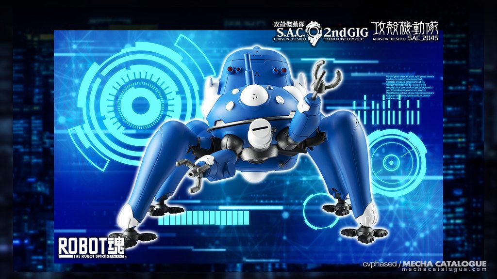 They Re Back With More The Robot Spirits Side Ghost Tachikoma Ghost In The Shell S A C 2nd Gig Sac 2045 In 2020 Ghost In The Shell Ghost Cyber