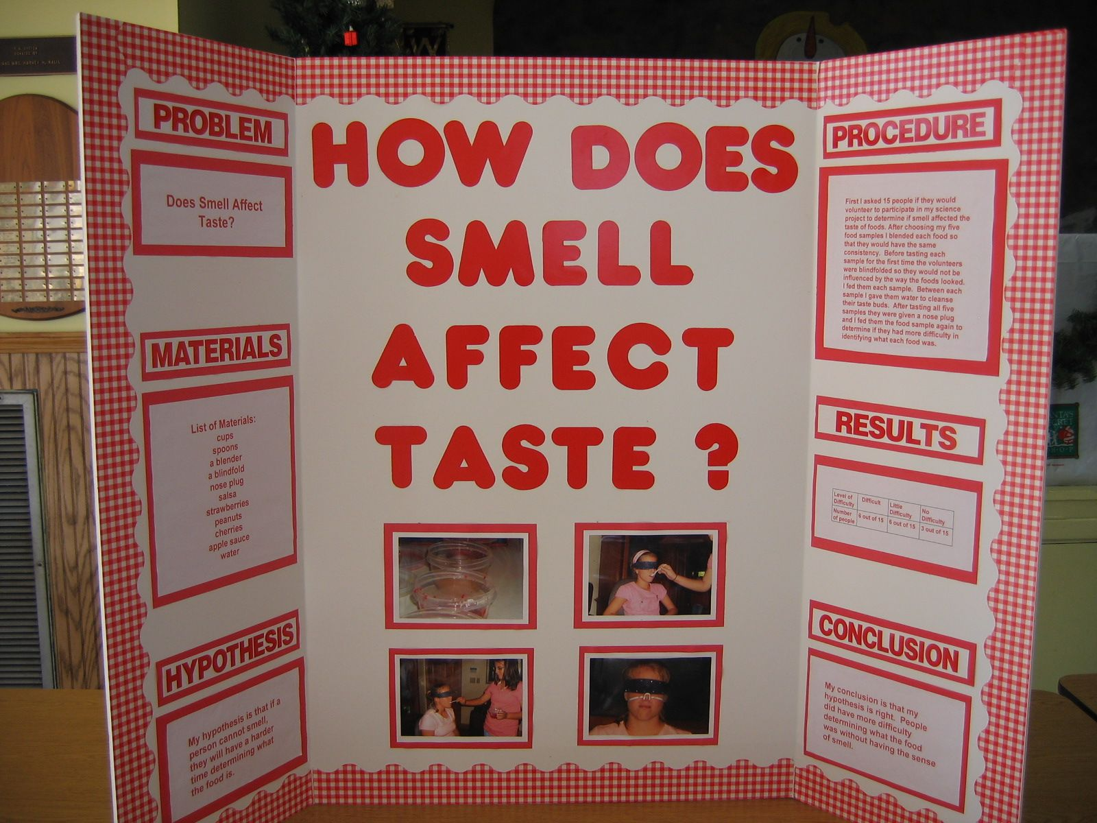Pictures of science fair projects description my for Do my project