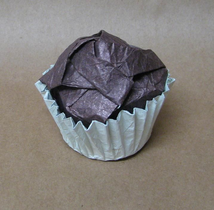 Origami Cupcakes Origami And Cupcake Liners