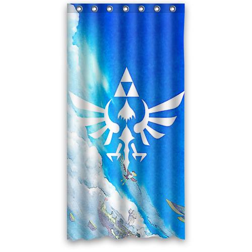 Legend Of Zelda Triforce Shower Curtain 100 Polyester In 2020