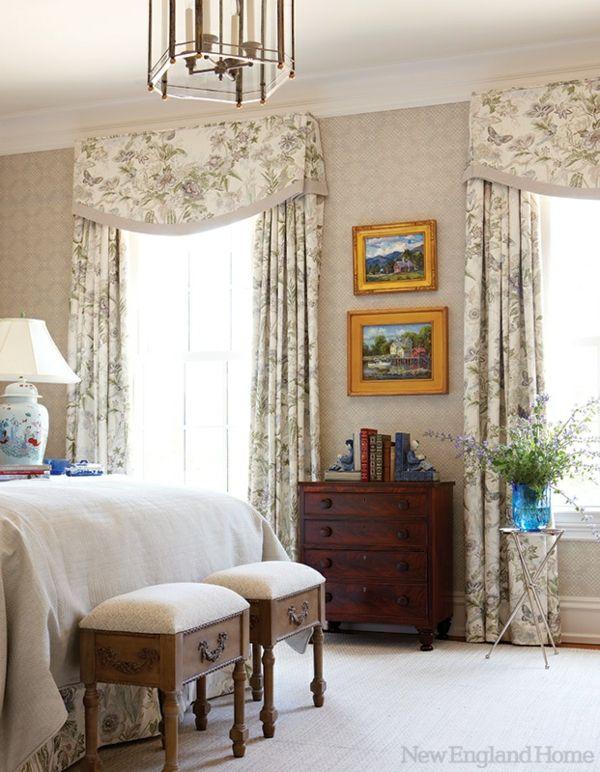 Schlafzimmergardinen und Vorhänge u2013 den Privatraum stilvoll - schlafzimmer gardinen ideen