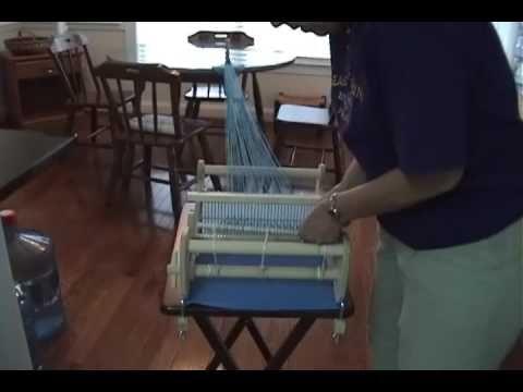 How To Warp Your Schacht Rigid Heddle Loom Cricket Loom Tapestry Weaving Hand Weaving