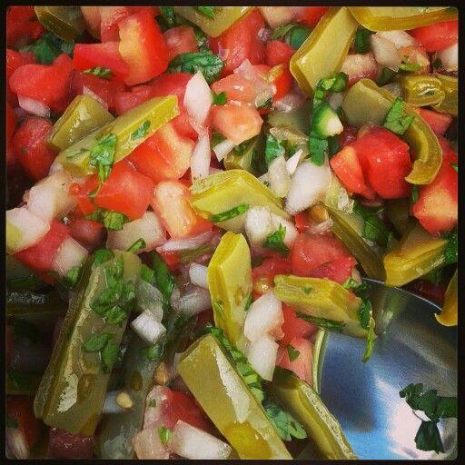 Ensalada de Nopal. Mexican food/Comida Mexicana