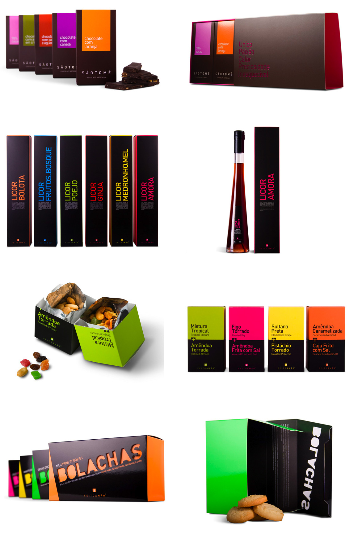 """""""Boa Boca"""" Portuguese brand with gourmet goods A smart and colorful packaging."""