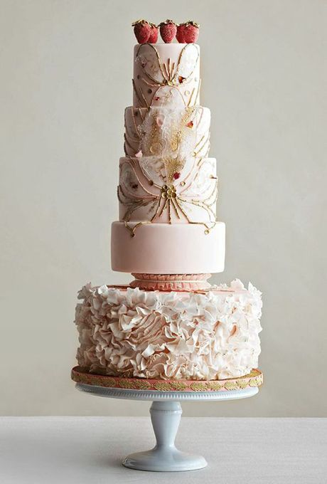 Brides.com: The 50 Most Beautiful Wedding Cakes