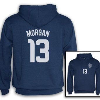 1bfb5068dd3f Alex Morgan SweatShirt in Navy Blue, Green, White and Black on Amazon...  got this jacket in navy and it's so warm perfect for when it's really cold  outside