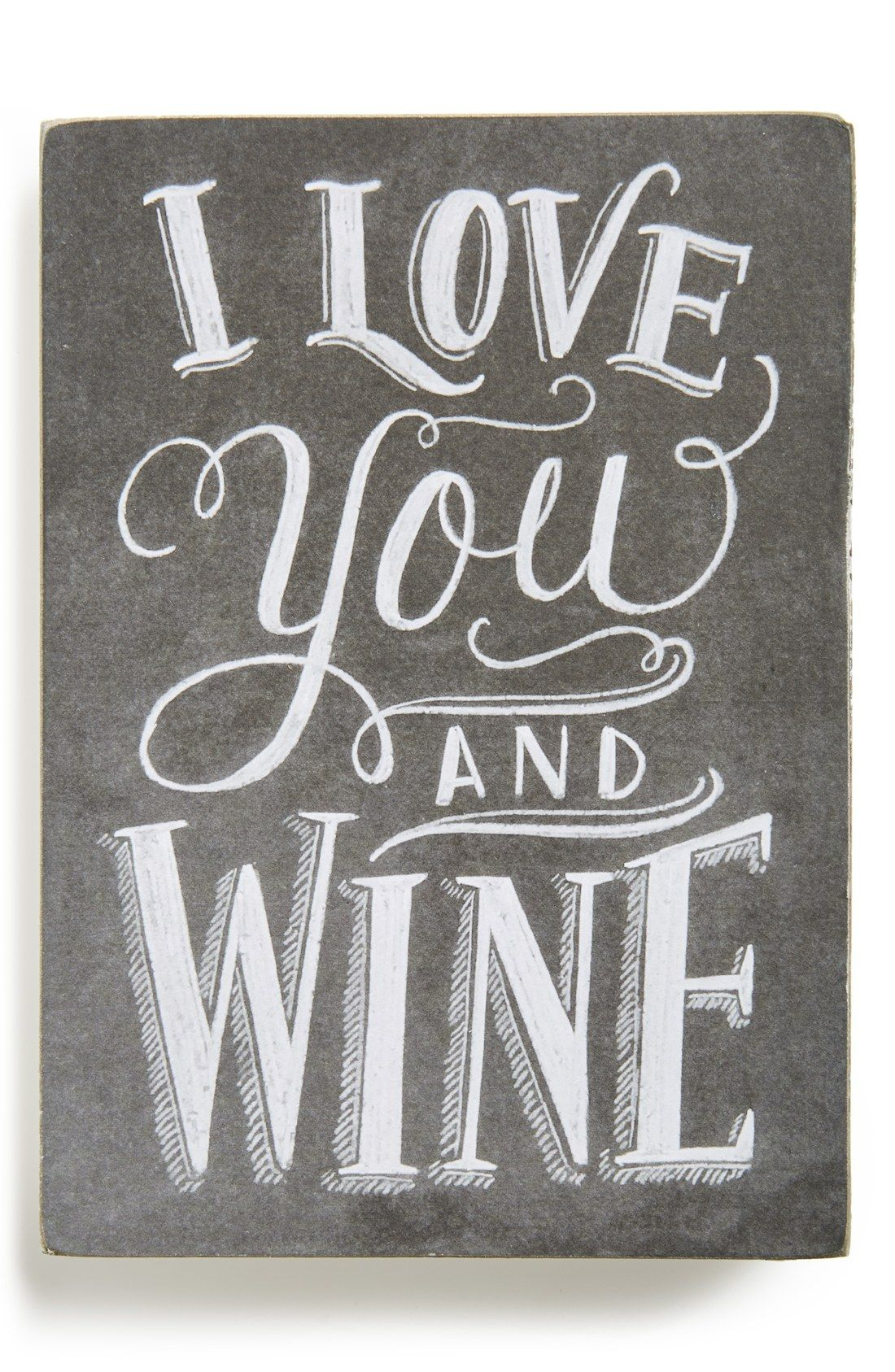 Primitives By Kathy I Love You And Wine Box Sign With Images