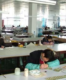 From our studios in China - artists at work