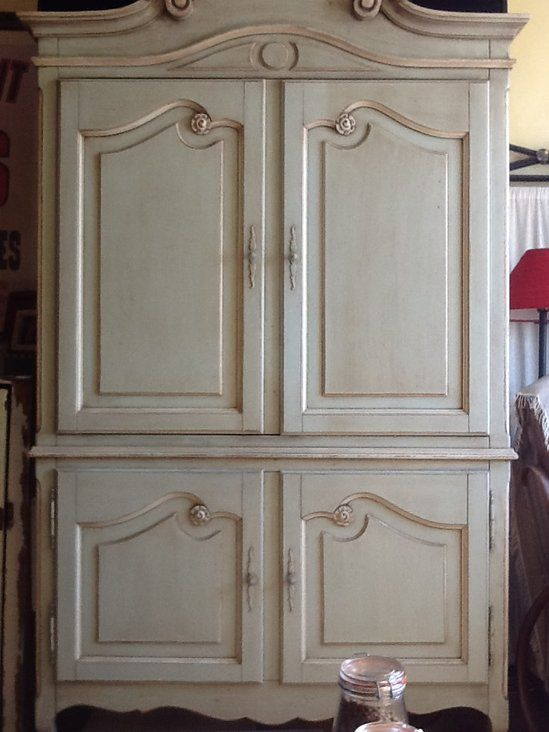 Shabby Chic /French Country Armoire /Entertainment