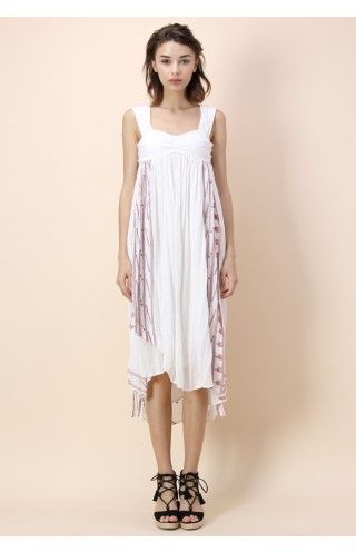 Ethereal Faery Dress in White - Dress - Retro, Indie and Unique Fashion