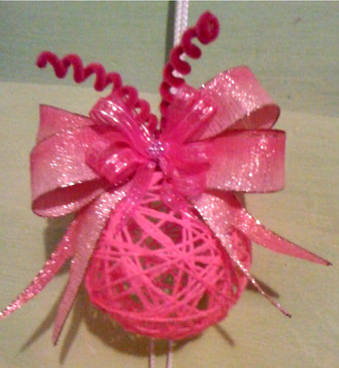 Esferas de mecate decoraci n navide a pinterest - Esferas de navidad ...