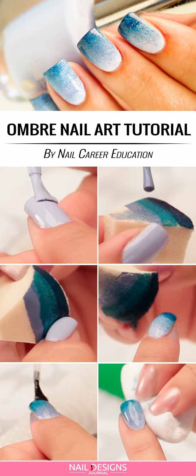 17 Super Easy Nail Designs Diy Tutorials Pinterest Nagel