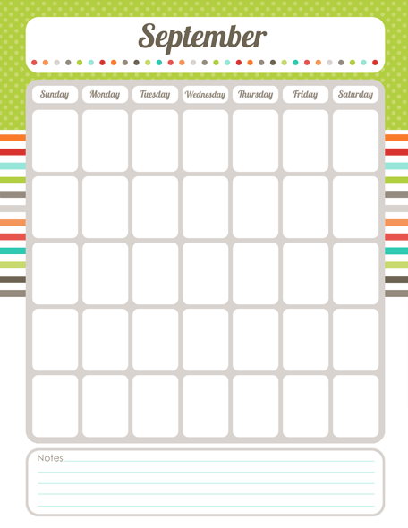 Free Printable Calendar Planner Whole Set Of Free Printables So