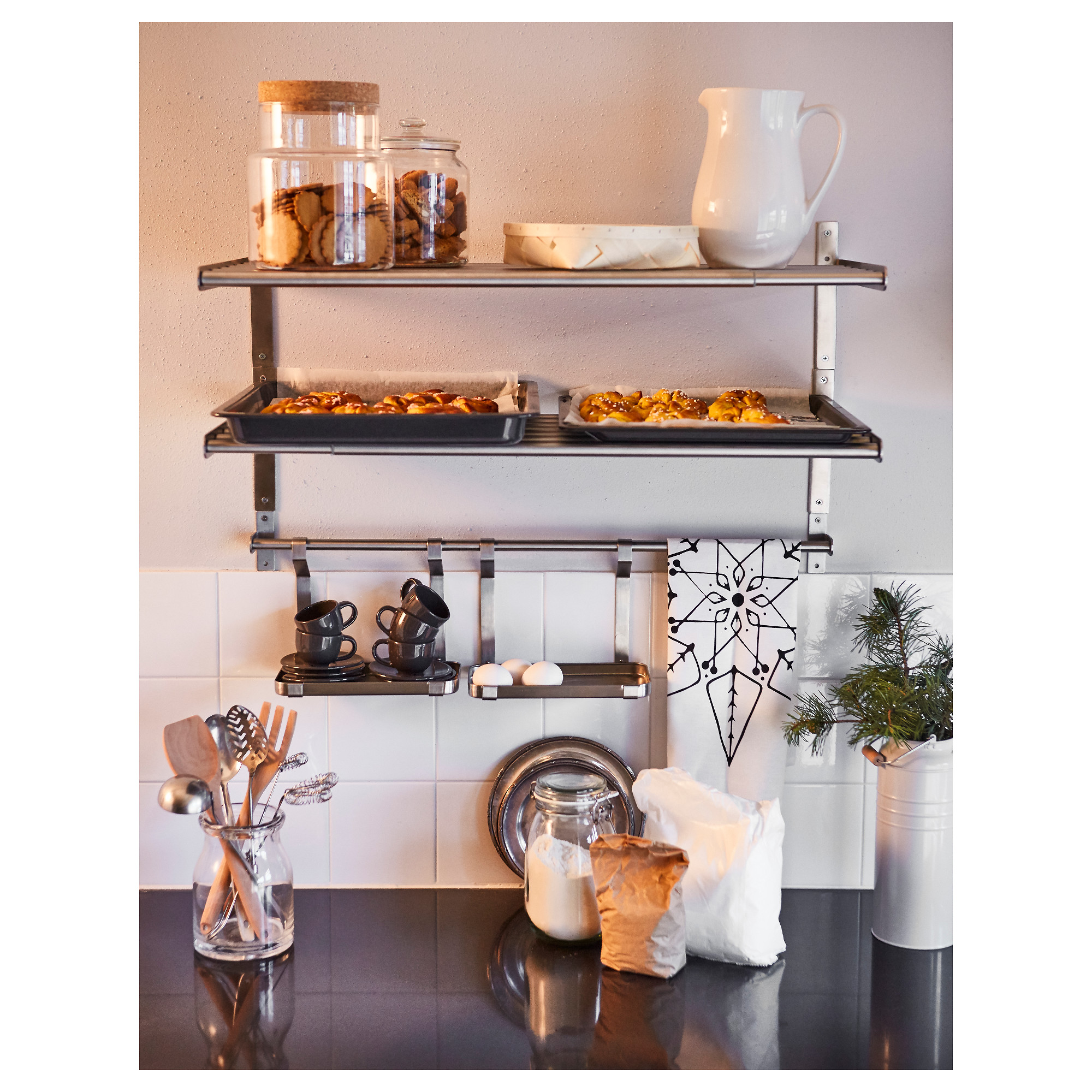 Grundtal Wall Shelf Stainless Steel Ikea In 2019 Products