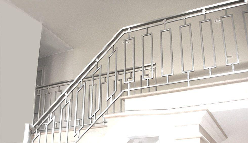 steel_grille_railing | Steel railing design, Railing ...