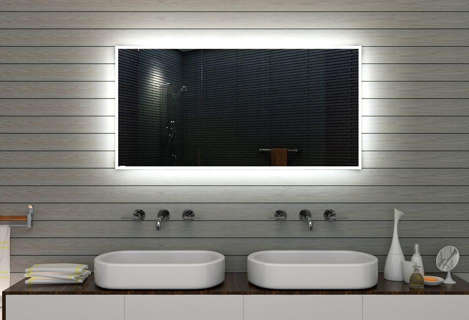 Badspiegel mit LED Beleuchtung - New Jersey M09L4 spiegel - badezimmerspiegel mit led