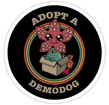 Stranger Things Demogorgon Sticker By Artisticbubble Con