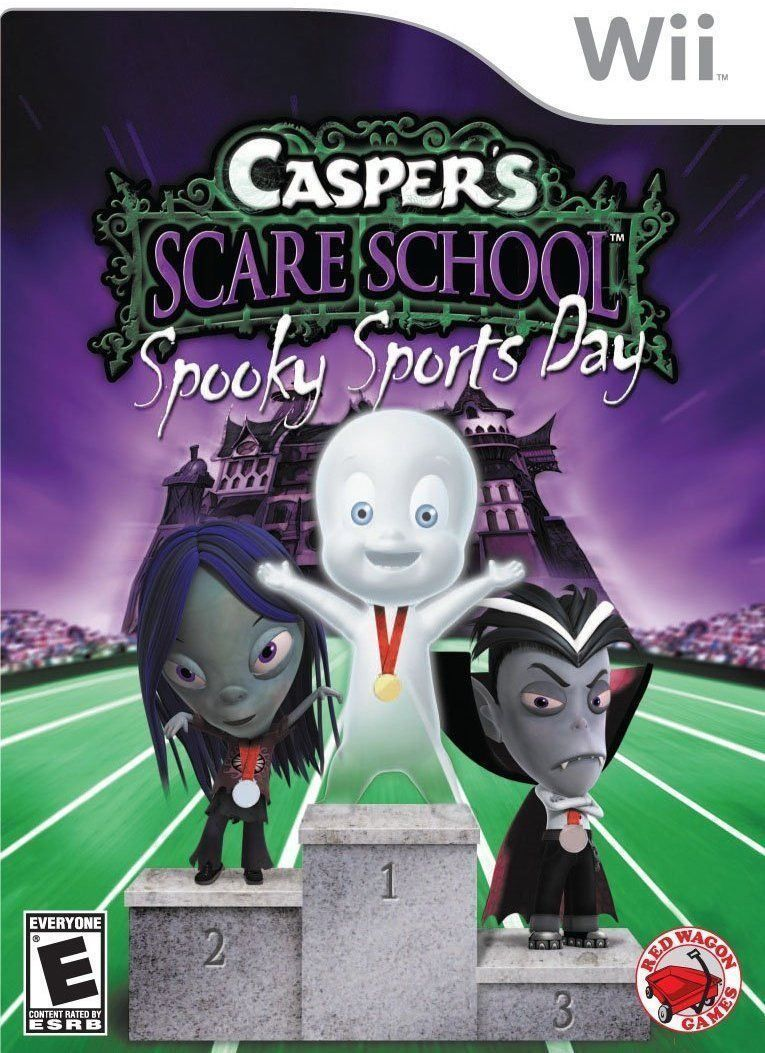 casper scare school spooky