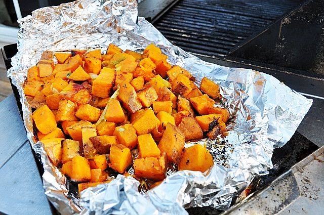Little B Cooks: Chronicles from a Vermont foodie: Grilled Sweet Potatoes