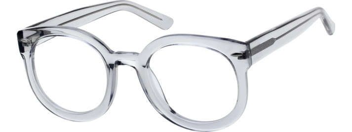 Translucent Round Eyeglasses 4414123 | Round eyeglasses, Eyeglasses ...