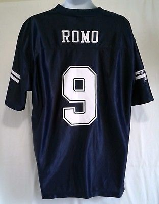 NFL Dallas Cowboys Tony Romo Jersey Size Large New Old Stock ... 77a5ad631