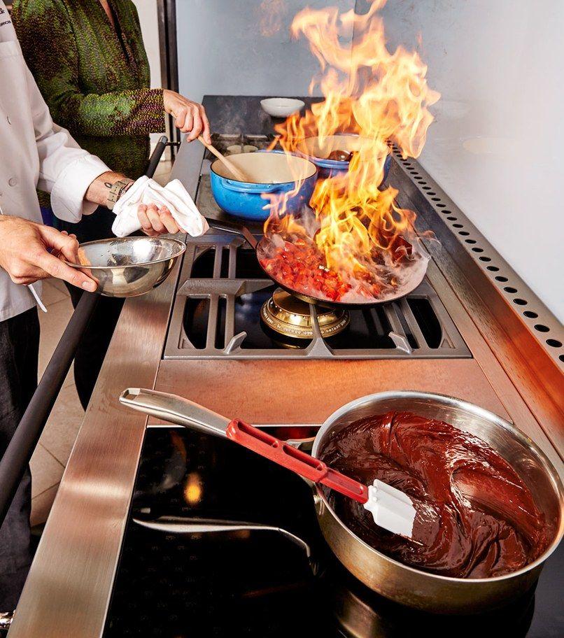 Cuisiner Sur Une La Cornue Chez Pirch Cuisine La Cornue Cuisiniere
