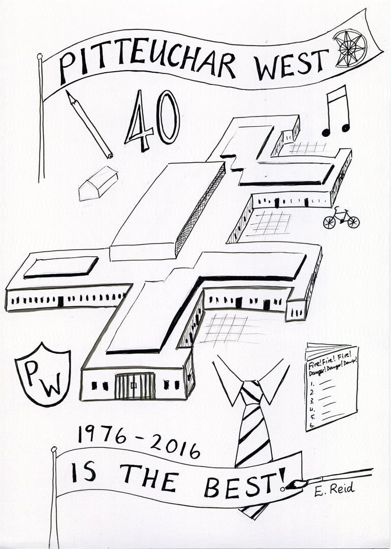 Drawings To Celebrate A School Anniversary School Anniversary
