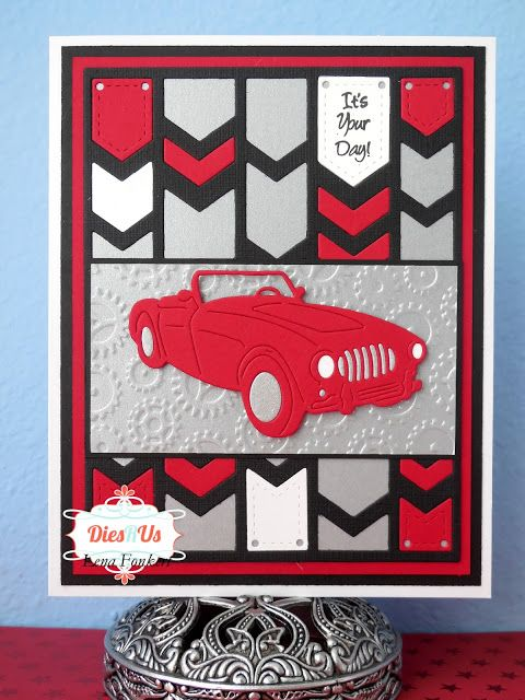 Lena's Creations: It's Your Day - Masculine Birthday Card