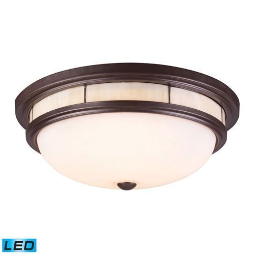Getinlight Round 6 Inch Dimmable Flush Mount Ceiling Fixture 2nd