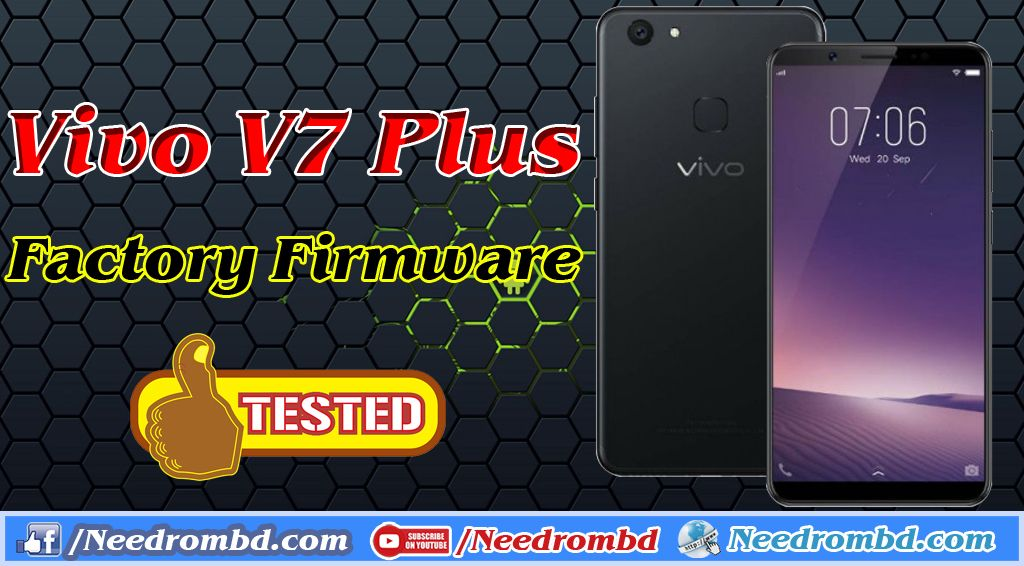 Vivo V7 Plus Factory Firmware Direct Download | Smartphone Firmware