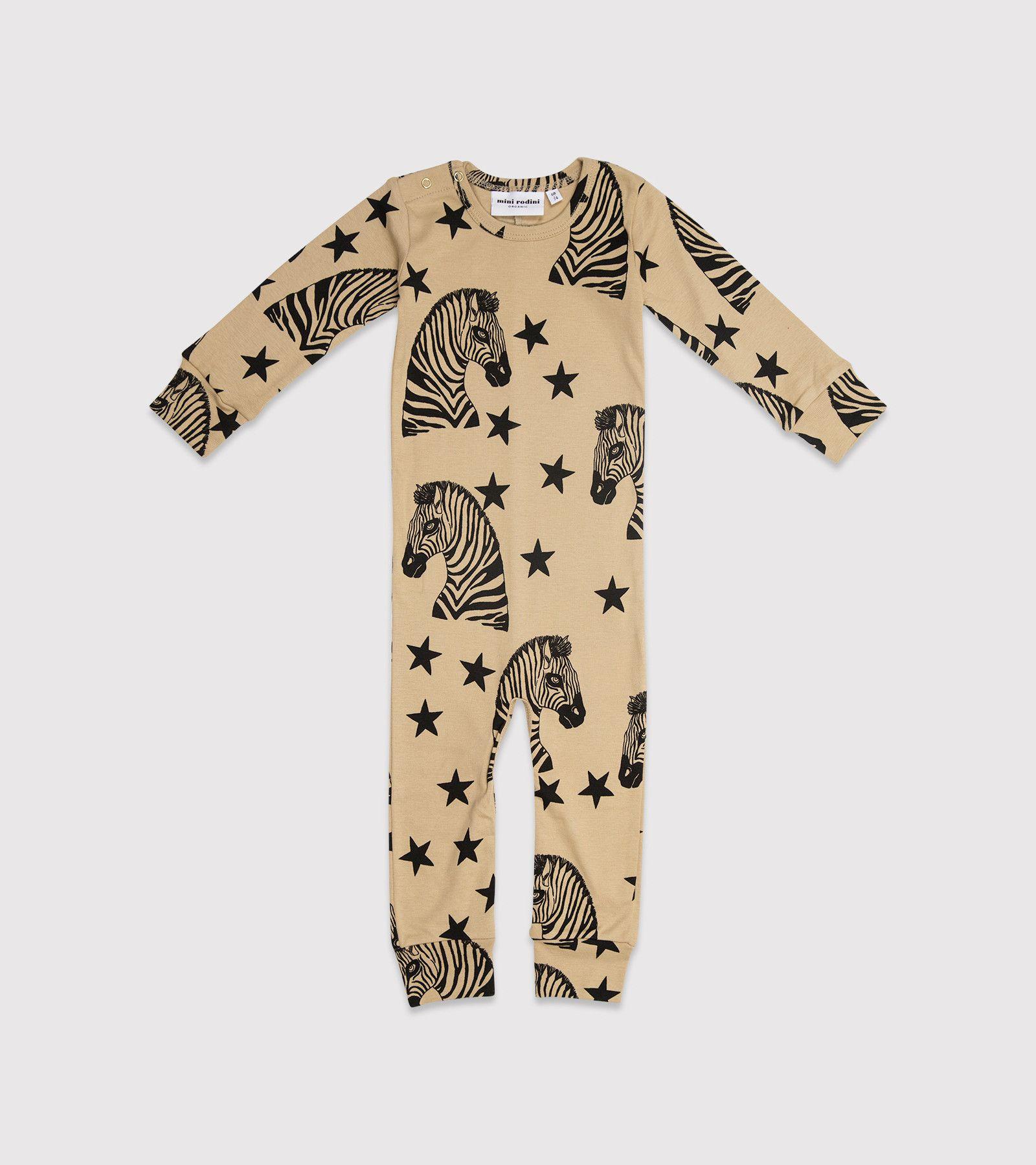 Mini Rodini Zebra Jumpsuit Beige 11 Main CHILDREN