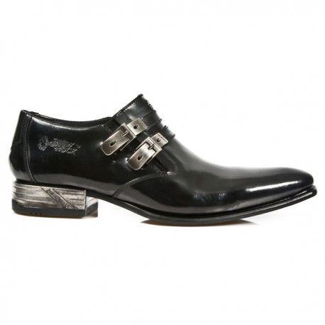 Rock Black With Mens 2 Shoes BucklesBotasBotinesZapatos f7gyYb6v