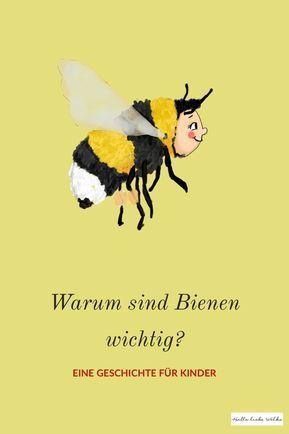 Warum Bienen wichtig sind? Prinzessin Blaublüte erklärt's! (Lerngeschichte für Kinder)