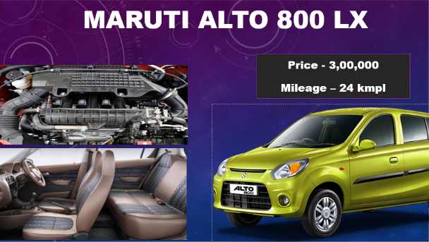 To know the more information about the ALTO 800 LXI like, on