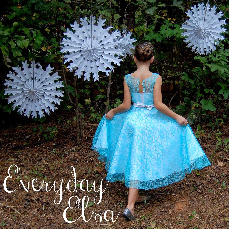 Everyday Elsa ~ Denim Party Dress {Project Run & Play Week 3 ...