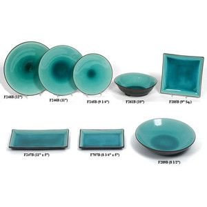 Ocean Blue Crackle Glaze Dinnerware  sc 1 st  Pinterest & Ocean Blue Crackle Glaze Dinnerware | KOOL KITCHEN STUFF | Pinterest