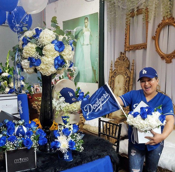 Cfm mireyas flowers showroom 121 la dodger baseball