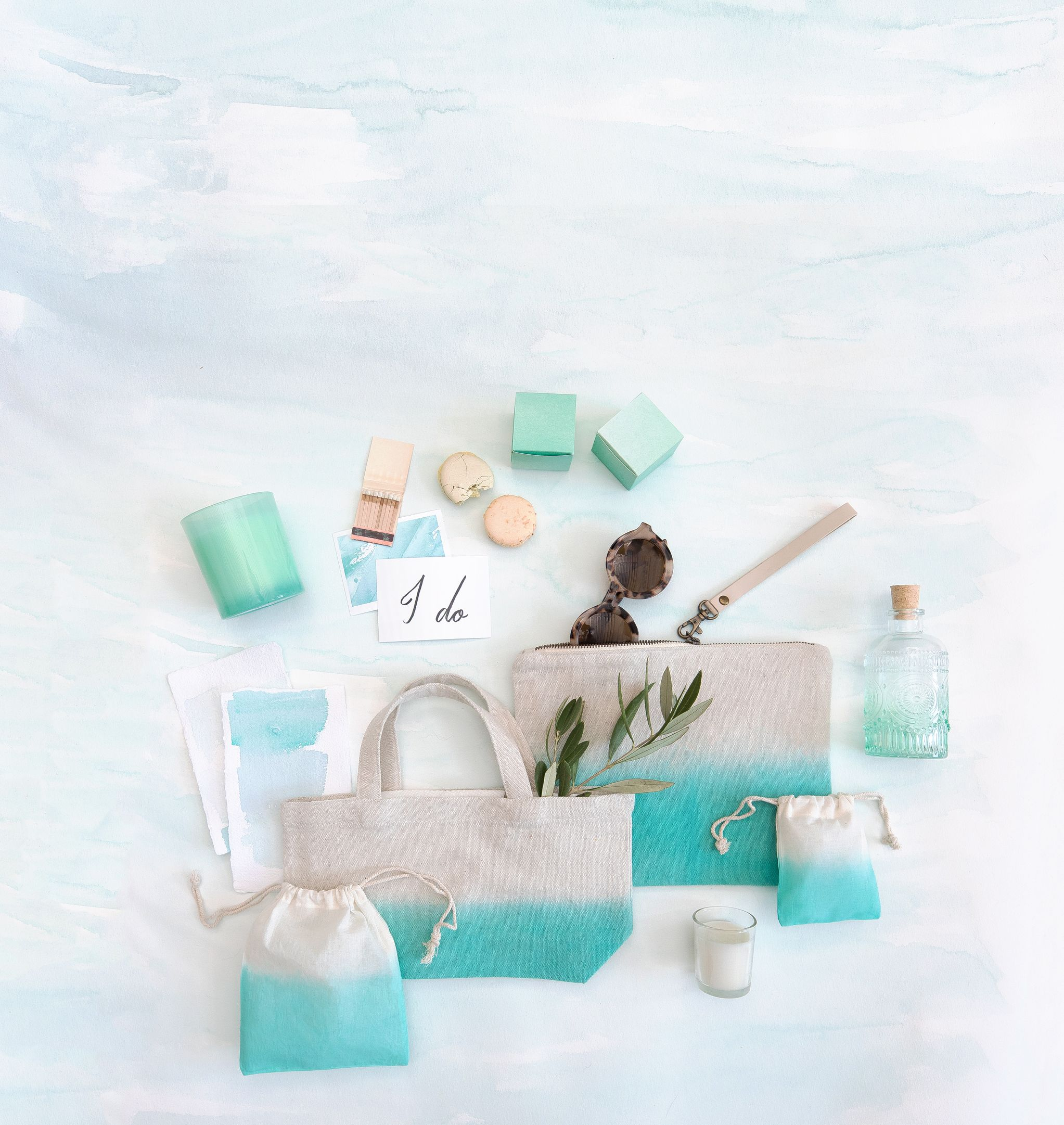 The Minted Weddings Color Library - Seafoam. Chic wedding favors and ...