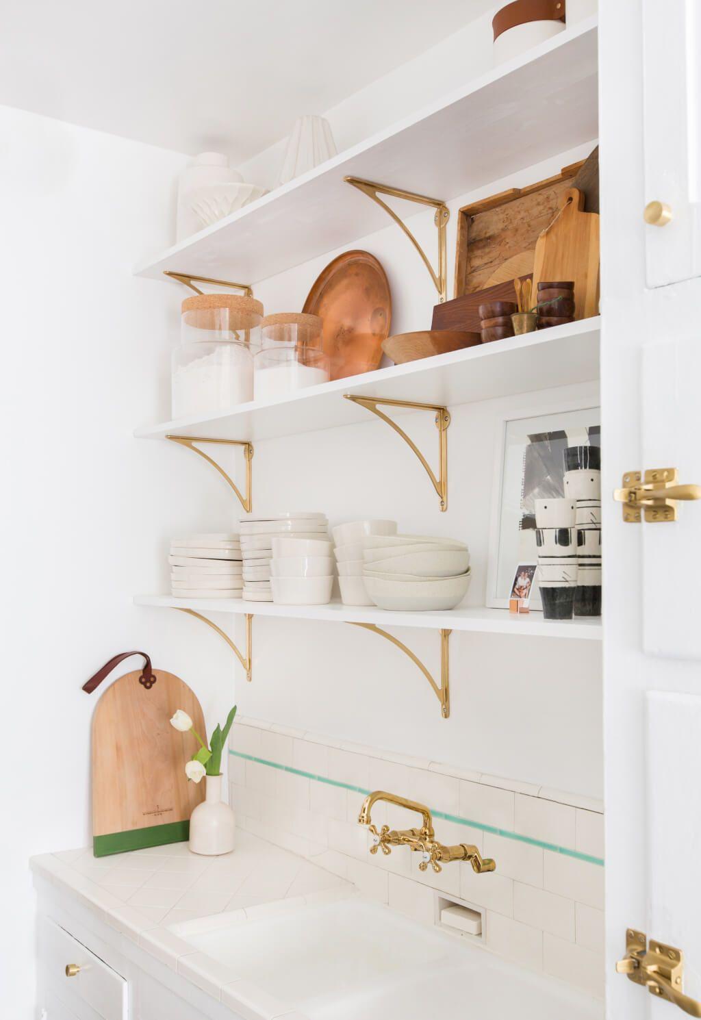 Brady S Kitchen Reveal Kitchen Shelves Shelves Home Decor