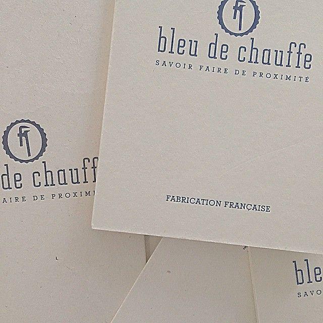 Logo #bleudechauffe #crafted #design
