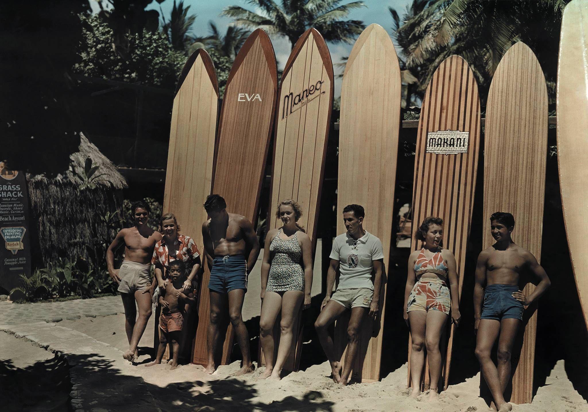 hawaii, 1950s